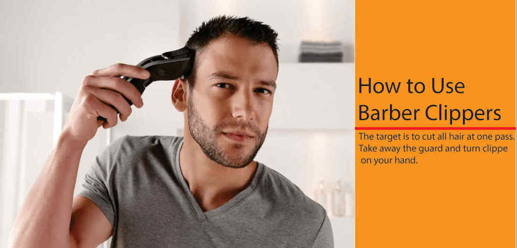 How to use the professional hair clippers